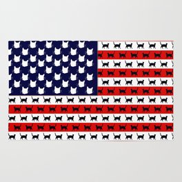 Cat Flag Rug