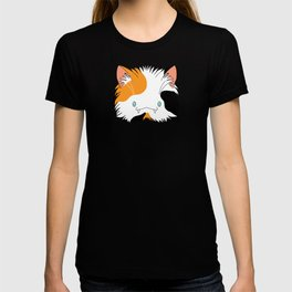Spoopy Calico Kitty disguise! T-shirt