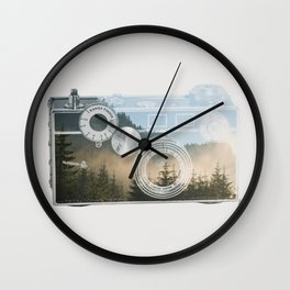 Nature Within Wall Clock