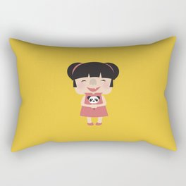 Hello how are you (Yellow Tales Series #1) Rectangular Pillow