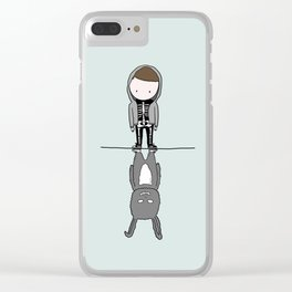 I will travel through wormholes for you Clear iPhone Case