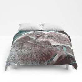 Toony Mum and Baby Koala Comforters