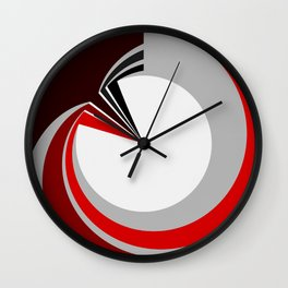 Colours in a circle Wall Clock