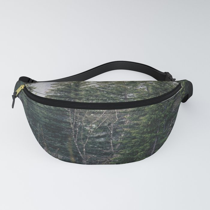 Forest Fog VII - 93/365 Nature Photography Fanny Pack