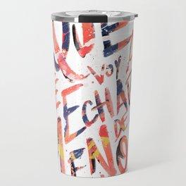 Echarte de menos Travel Mug