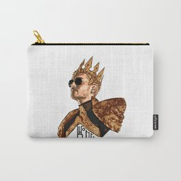 King Bill - Black Text Carry-All Pouch