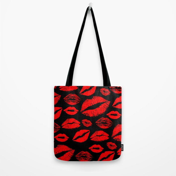 Lips 3 Tote Bag