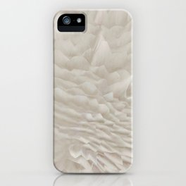 Just white iPhone Case