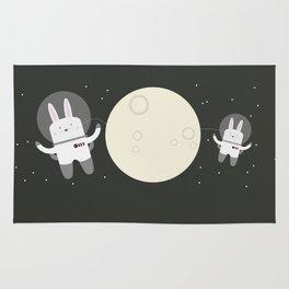 Astro Bunnies Rug