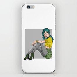 Grunge Chic iPhone Skin