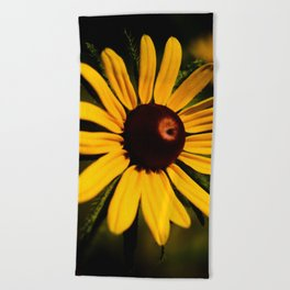 Rudbeckia Beach Towel