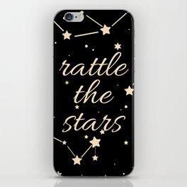 Rattle the stars iPhone Skin