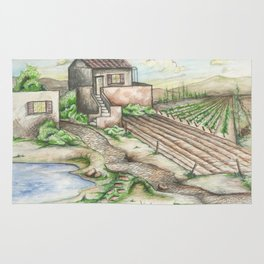 Italian Wine Country Rug