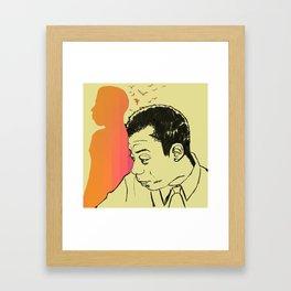 I am not your negro Framed Art Print