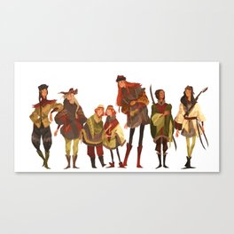 SEVEN BROTHERS Canvas Print