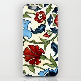 Tile with Carnations iPhone Skin