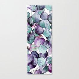 mystic eucalyptus leaves Canvas Print