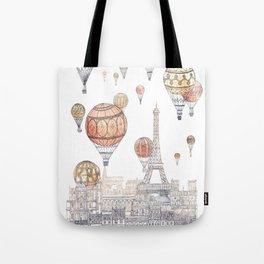 Voyages Over Paris ~ Refresh Tote Bag