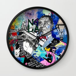 The Sound of New Orleans Wall Clock