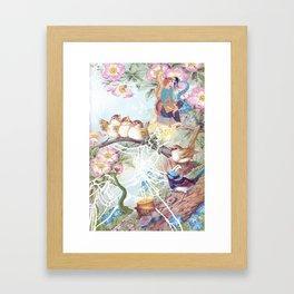 Dancing for Joy Framed Art Print