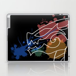 Black Dragon Art Laptop & iPad Skin