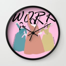 The Schuyler Sisters Wall Clock