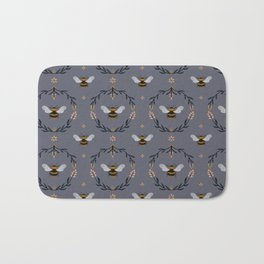 Ode to the Bumblebee Bath Mat