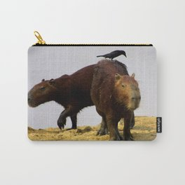 Capybaras Carry-All Pouch