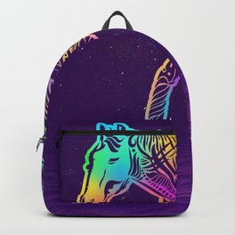Dark night horse Backpack