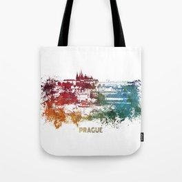 Prague skyline Tote Bag