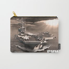 Aircraft carrier Ronald Reagan Carry-All Pouch