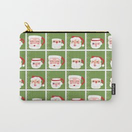 Santa Mug Shots Carry-All Pouch