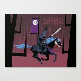 Last Ride of Samurai Jack Canvas Print