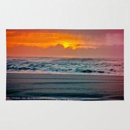 Ocean Sunset - Pacific Coast Highway 101 Rug