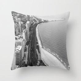 Lakeshore Drive Throw Pillow