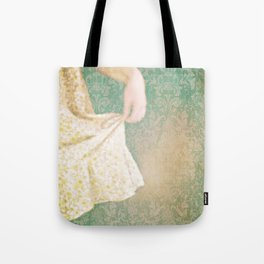 The Yellow Dress. Tote Bag
