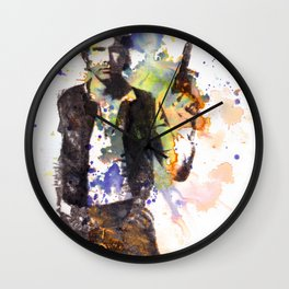 Han Solo From Star Wars  Wall Clock