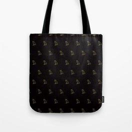 Classic Owl - Black Tote Bag
