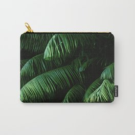 Lush green palms Carry-All Pouch