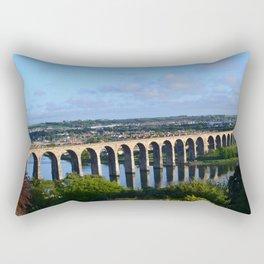 Royal Bridge, Berwick-upon-Tweed Rectangular Pillow