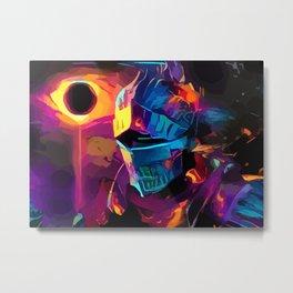 The Neon one-Dark souls Metal Print