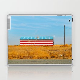 America flag house Laptop & iPad Skin