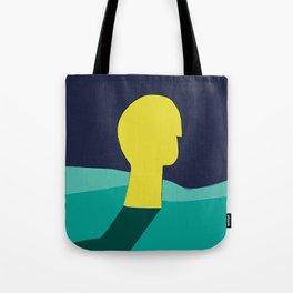 Be in deep water Tote Bag