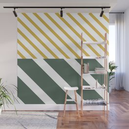 Forest x Stripes Wall Mural