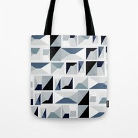 arya stark Tote Bags featuring Stark  by Ilsa Falis