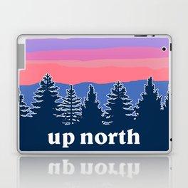 up north, pink hues Laptop & iPad Skin