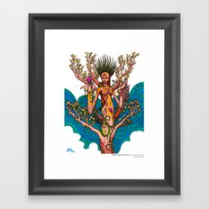 Harsh Winter's Passed Framed Art Print