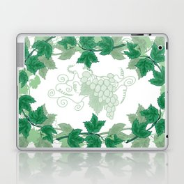 Abstract frame from grapevines Laptop & iPad Skin
