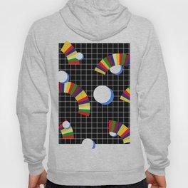 Memphis Grid & Rainbows Hoody