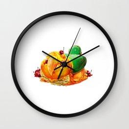 Caique Cake Wall Clock